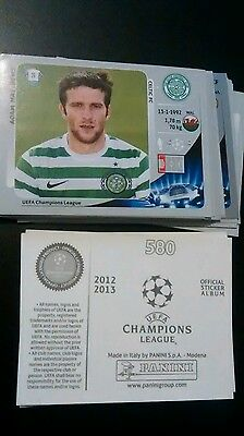Lot d'images panini au choix (champions league 2012-13)