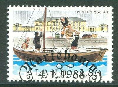 ALAND 1988 stamp Postal Service 350th Anniversary fine used (CTO) Ships