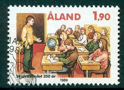 ALAND 1989 stamp 350th Anniversary of the Education System fine used (CTO)