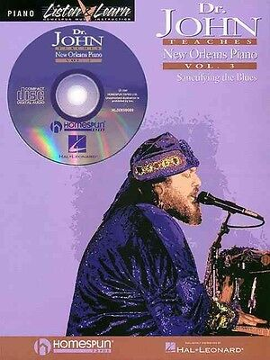 Dr. John Teaches New Orleans Piano - Volume 3 by Hal Leonard Publishing Corporat