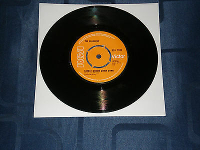 "The Hillsiders - Sunday Mornin' Comin' Down - 1970 Rca Victor 7"" - Country Gem"