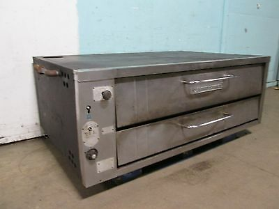 """baker's Pride"" H.d. Commercial Natural Gas Steel Deck Pizza/bakery Oven"