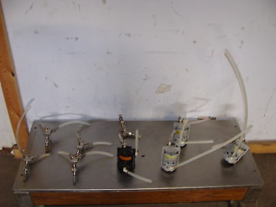 Lot Of 4 Shurflo Beer Soda Pumps With 5 Y Connections