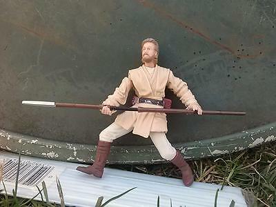Star Wars 2003 Obi-Wan Kenobi Acklay Battle Attack Of The Clones Action Figure