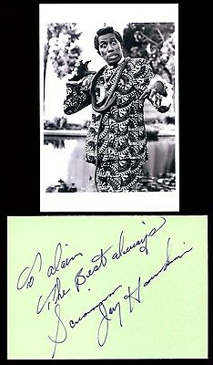 Autographe Screamin Jay Hawkins ( † 2000) I Put A Spell On You Signiert Signed
