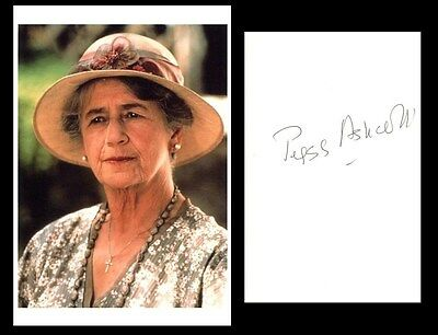 Autographe Peggy Ashcroft ( † 1991)  Dedicace Signed Signiert A Passage To India