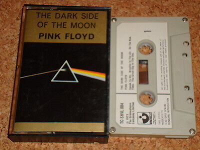 PINK FLOYD -Dark Side Of the Moon-cassette tape album, early issue, paper labels