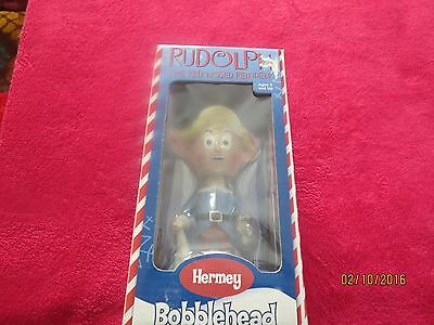 HERMY the DENTIST BOBBLEHEAD - Rudolph Red Nosed Reindeer