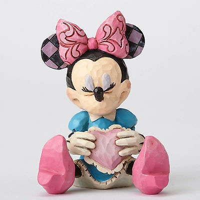 Disney*MINIATURE MINNIE MOUSE with HEART*Jim Shore*NEW*Valentine's Day*4054285