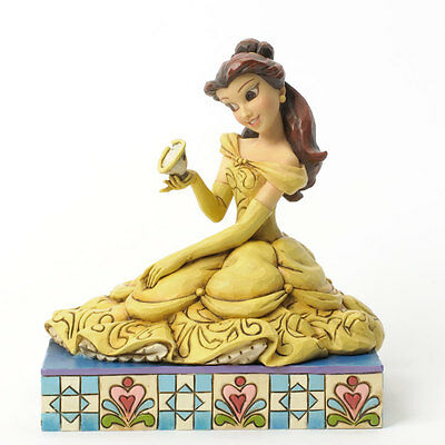 Disney*BELLE with CHIP*Jim Shore*NEW*NIB*Curious*Kind*BEAUTY & BEAST*R2*4037513*