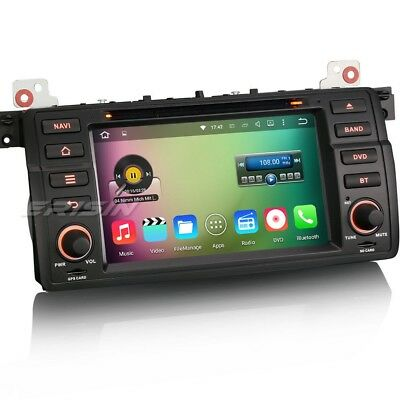 Android 5.1 Autoradio BMW E46 GPS Navigation DAB+ DVD OBD SD DVR Can-bus 4046GD
