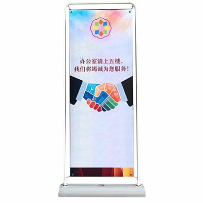 NEW Portable Door Banner Stand Sign Display Advertisement Trade Show Exhibition
