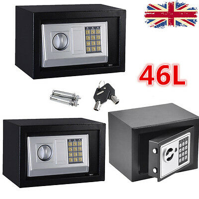 Secure Digital Steel Safe Key Electronic Security Home/office Safety Box Adm