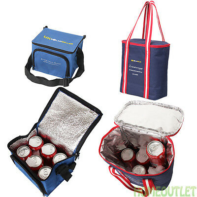 Insulated 6/12 Can Cool Coor Sandwich Drinks Can Picnic Cold Travel Bag Dm