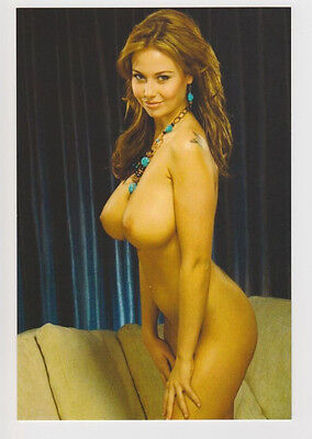 Postcard Nude Erotic Girl Topless Breast Sexy Woman Butt Naked Post Card 5122