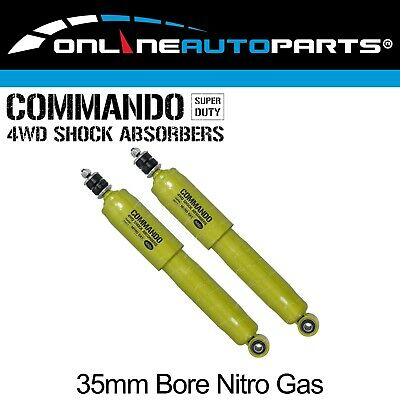 2 Nitro Big 35mm Bore FRONT Shock Absorbers Pair - Commando Gas - Left + Right