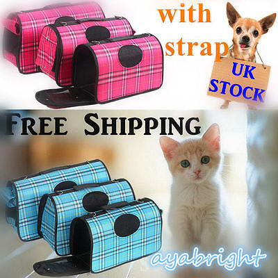 Pet Travel Bag For Dog/puppy/cat/kitten/rabbit Carrier/cage/crate/handbag/todk