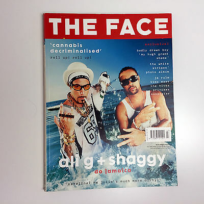 Vintage THE FACE Magazine March 2002 V3 No. 62 Ali G & Shaggy Cover