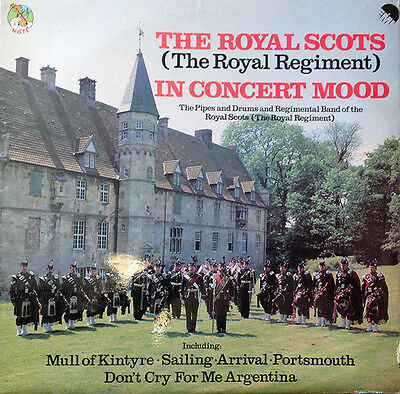 The Royal Scots (The Royal Regiment) In Concert Mood