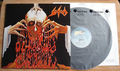Sodom Obsessed By Cruelty Lp 86 Germany Steam Hammer A1B1 + Inner Ex/ex Thrash