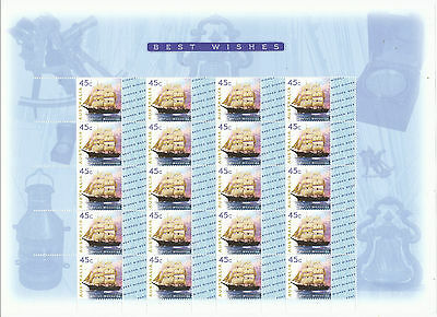 Australian Stamps: 1999 Greetings - Best Wishes - full sheetlet