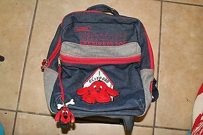 Clifford The Big Red Dog Backpack With Wheels