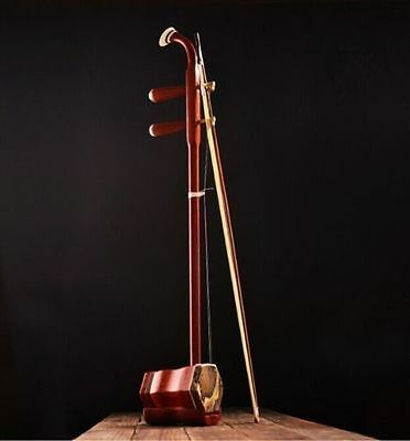 *New CHINESE TRADITIONAL Red rosewood erhu instrument