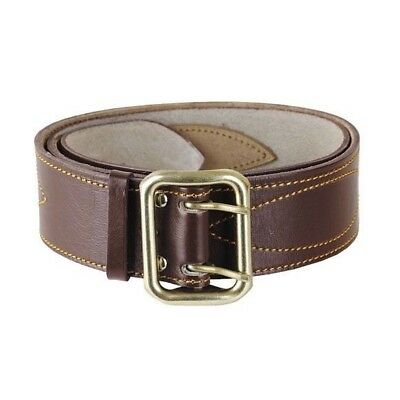 Genuine Russian Army Military Uniform Original Officer Leather Belt, Brown/Black
