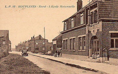 Carte Postale Ancienne. Houplines (Nord) . Achat Immediat