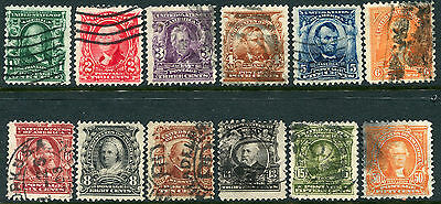 US Lot 2608 US Postage Scott A115-A125 300-310 parts Stamps