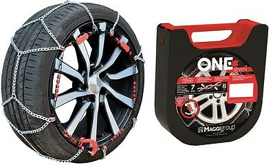 "Chaines Neige - Snow Chains THE ONE 7mm - 090 - 13"" à 18"" NEUVES"