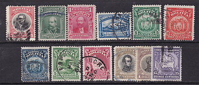BOLIVIA   ^^^^^1909-29   used  collection  $$@ f5803bol
