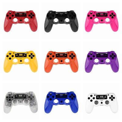 Gamepad Controller Housing Shell W/Buttons Kit for PS4 Handle Cover Case URJV