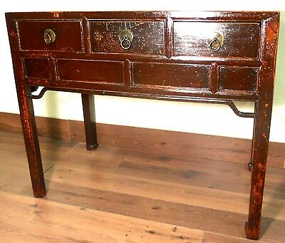 Antique Chinese Desk (5355), (Console Table), Circa 1800-1849