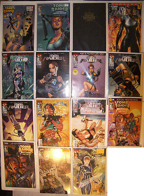 (25) Image/topcow Comics Featuring Tomb-Raider