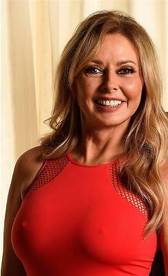 1a Carol Vorderman nippy red top A4 12x8 inch approx glossy photo