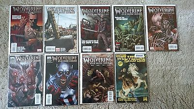 Wolverine 66-72 & GS #1 incentive OLD MAN LOGAN complete run. HIGH GRADE