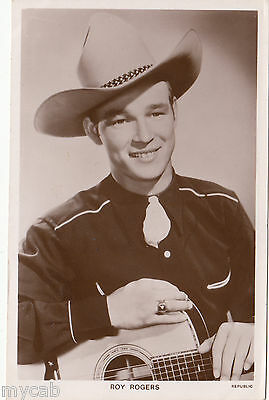 Postcard Roy Rogers film star Picturegoer Series #1389 movie photo RP