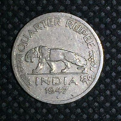 India-British Quarter Rupee , 1/4 Rupee (George VI) / C1600333