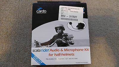 Scala Rider Q2 Audio & Microphone Kit For Half Helmets