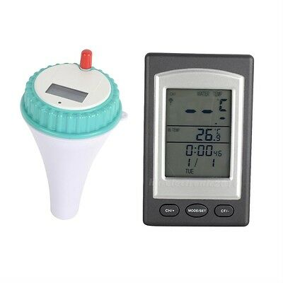 Wireless Thermometer In Swimming  Pool Spa Hot Tub Waterproof  Thermometer BHXD