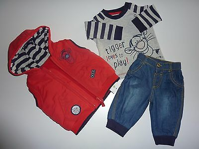 Disney TIGGER 3 Piece Set NWT