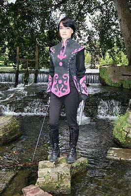 Real Cow Suede medieval woman Armour LARP SCA Armor costume GAME OF THRONES gift