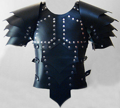 Leather Medieval Armour Game of Thrones armor theatrical LARP SCA costume fancy