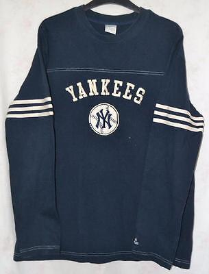 Retro Adidas New York Yankees Baseball Sweatshirt Large Mens