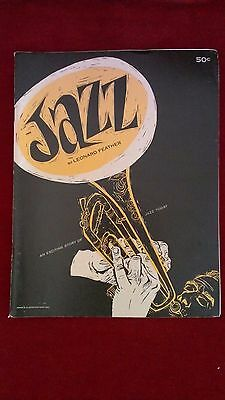 Jazz By Leonard Feather, Trend Books In Good Condition