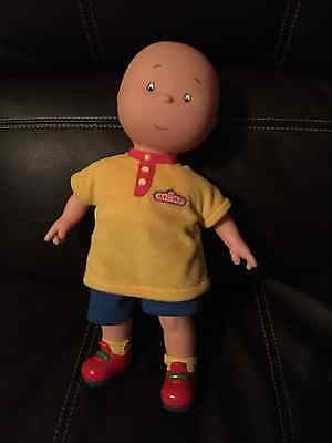 "Caillou 13"" Famosa Toy Doll Tv Show Kids Plush"