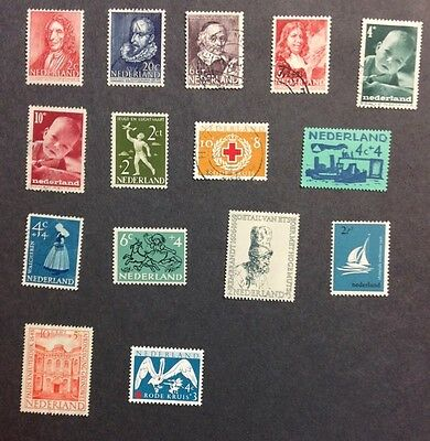 Nederland VF Mint NH & Used Semi Postals