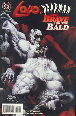 Lobo & Deadman The Brave And The Bald #1 One-Shot Special 1995 Martin Emond!