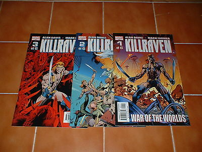 KILLRAVEN (2002 SERIES) ISSUES 1, 2 & 3 (OF 6)      marvel